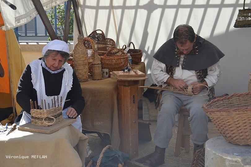 Rambouillet : La Saint Lubin : Métiers d'autrefois : Le vannier