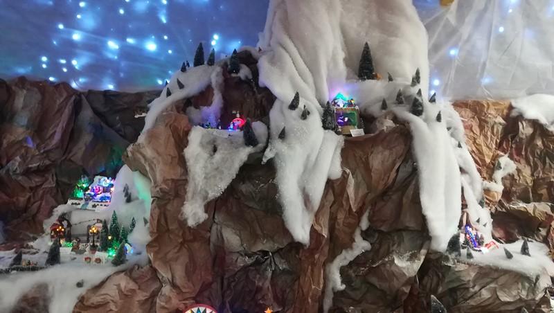 Décors de Noël dans les magasins