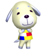 Naomie animal crossing WII