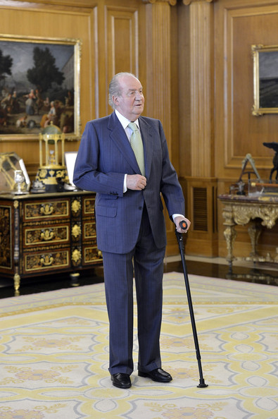 Juan Carlos et les aveugles