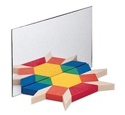 Pattern Blocks Mirror
