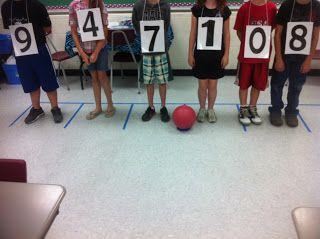 Aider les élèves sur la place des chiffres