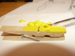 Animaux pince linge animations activit s avec les enfants - Que faire avec des pinces a linge en bois ...