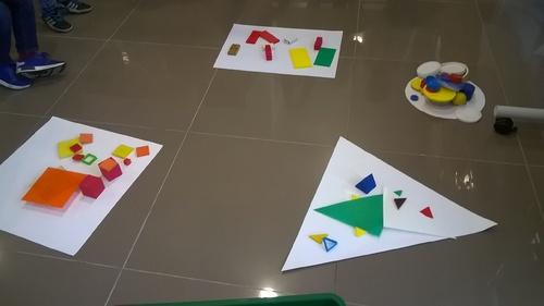 En MS nous faisons de la géométrie!