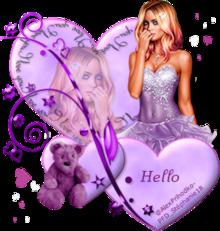 Modèle #5 Coeur Purple