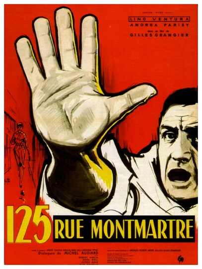 125 RUE MONTMARTRE - LINO VENTURA BOX OFFICE 1959