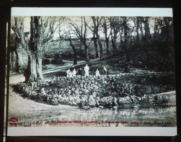La ville de Châtillon sur Seine pendant la Grande Guerre, en cartes postales, une conférence de Jean Millot