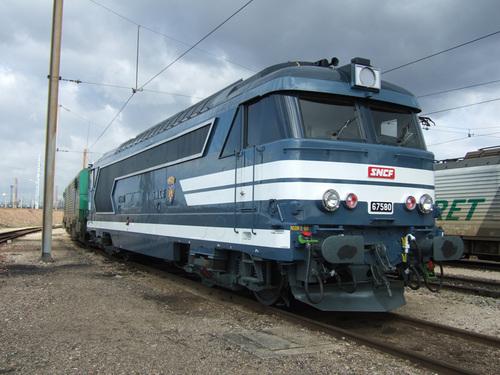 BB 67580 préservée patrimoine SNCF!