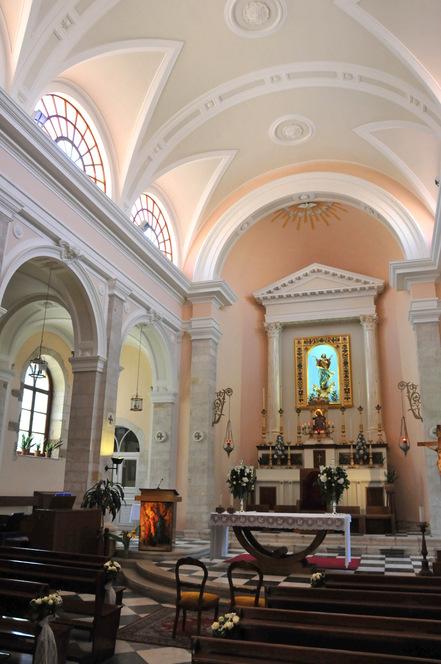 Hania, l'église catholique