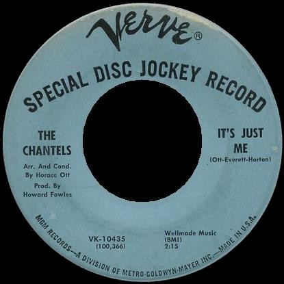 Chantels (The) - It's Just Me