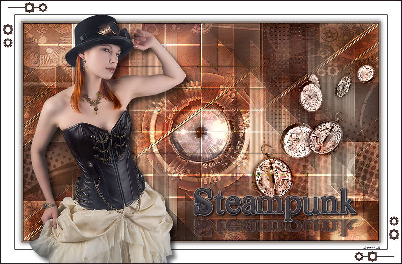 for using my tube Steampunk.