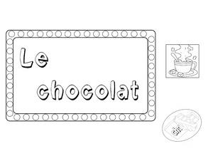 LAPBOOK sur le chocolat