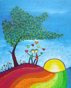 """""""Les couleurs du cœur"""" - exposition - 5 -"""