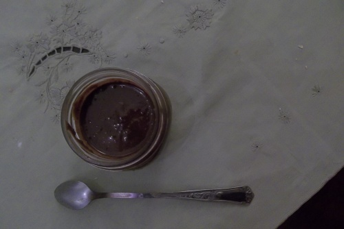 Pâte à tartiner maison, chocolat/amande