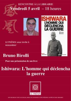 Rencontre à la librairie Le Phénix - Le 5 avril 2013