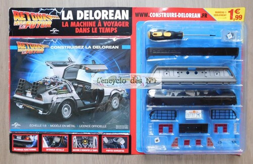 N° 1 Construisez la Delorean - Test