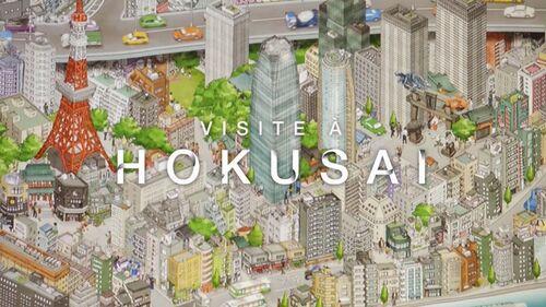 Visite à Hokusai ...
