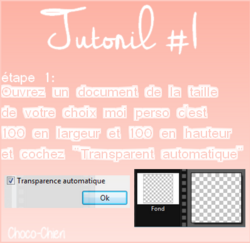 Tuto [Photofiltre 7 #1] Faire un fond transparent