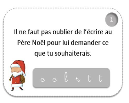 Devinettes de Noël.