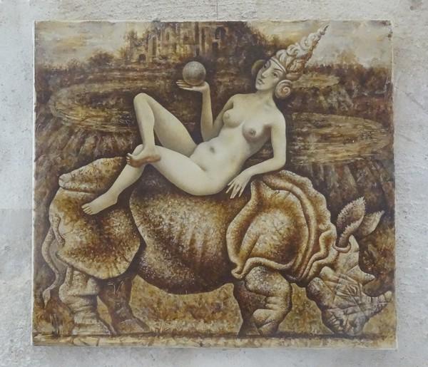 """Les """"Mardis Découvertes"""" de l'Office du tourisme du Pays Châtillonnais,nous ont fait connaître Dimitri Koulaguine, peintre sculpteur, graveur"""