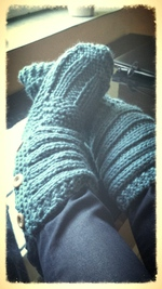 Les doigts de pieds en éventail !