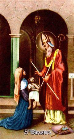 Saint Blaise de Sébaste, Martyr en Arménie (+ 316)