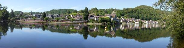 Beaulieu et la Dordogne