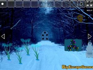 Jouer à Big Christmas creepy forest escape