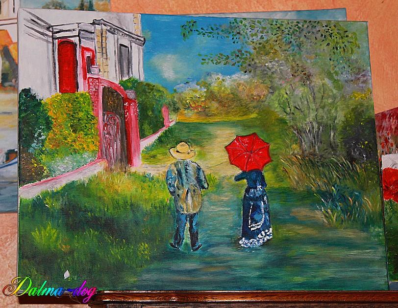 tableaux peint par ma tante Marie-Christine