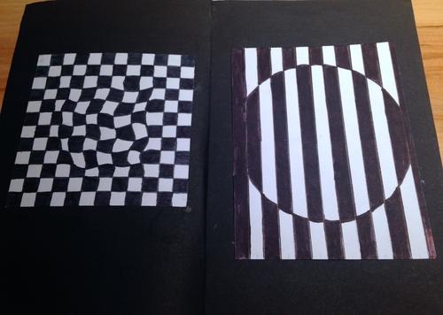 Livret d'illusions d'optique