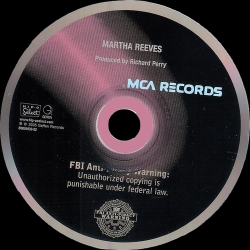 "Martha Reeves : "" Martha Reeves "" MCA Records MCA 414 [ US ]"