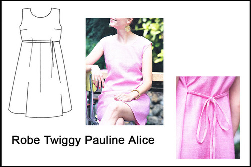 Robe Twiggy Pauline Alice