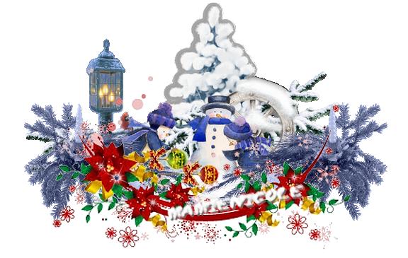 ♥♥ barres Hivers et Noël ♥♥
