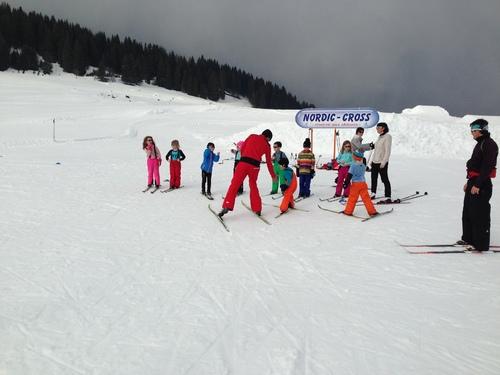 Les cp font du ski de fond!