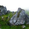 5 Le rocher de l\'abornement numéro 5 des sept quartiers d\'Ossoue