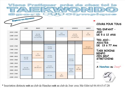 planning htc -jtc taekwondo