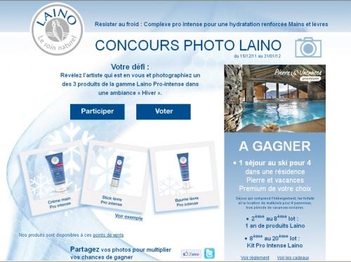 Bon plan : Jeux-concours Laino