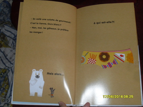 Ours blanc a perdu sa culotte - Tupera Tupera