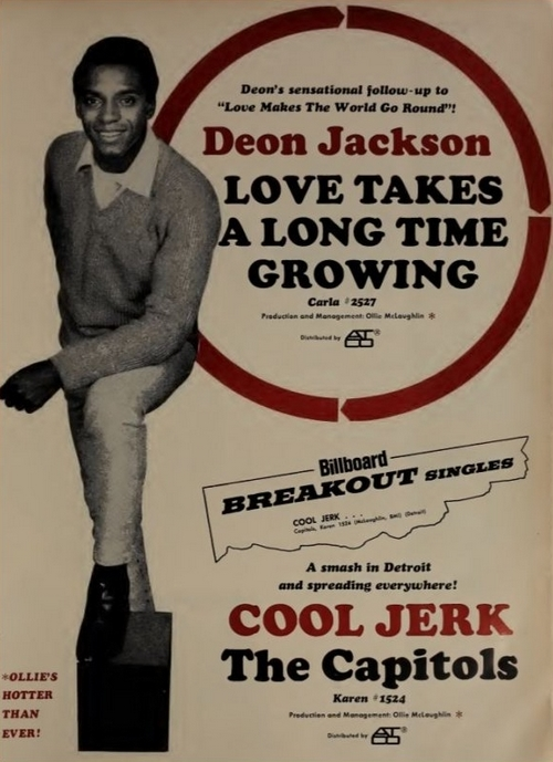 "Deon Jackson : Album "" His Greatest Recordings "" Solid Smoke Records SS-8020 [ US ]"