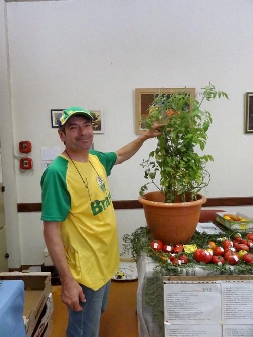 """""""Le jardinier amateur"""", l'exposition 2012 des Amis du Canton d'Aignay le Duc"""