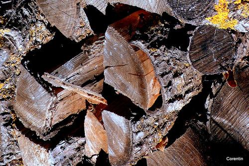 Du bois pour la cheminée