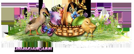 Mes barres séparatives de Pâques