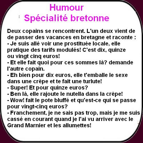 humour spécialité bretonne