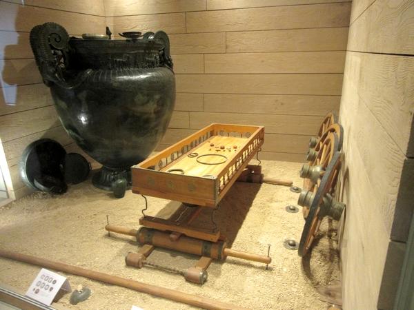 """Un """"Espace-Actualités-Fouilles"""" vient d'être créé au sein du Musée du Pays Châtillonnais-Trésor de Vix"""