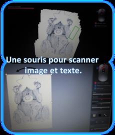 Une souris pour scanner-aide pour dys-logiciel-transformer des textes-
