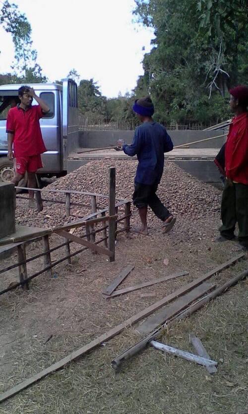 Poursuite des travaux - Ecole Ban Vang Mao (suite)