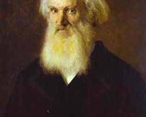 Portrait of the Artist Mikhail Dyakonov - Ivan Kramskoy