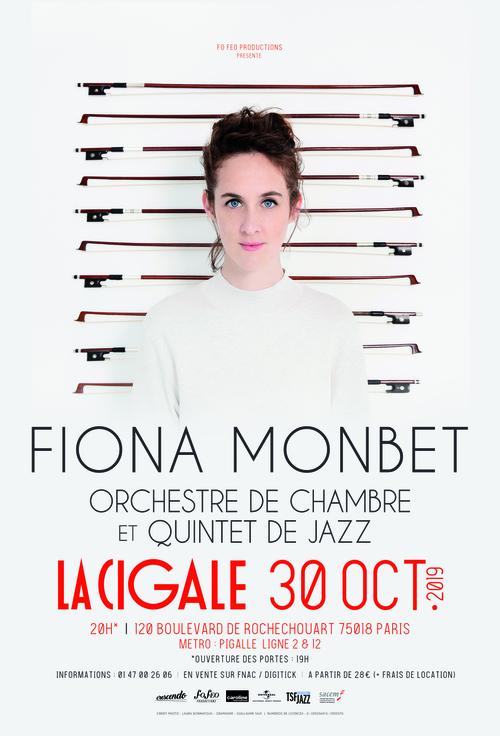 Fiona Monbet en concert à la Cigale le 30/10 !