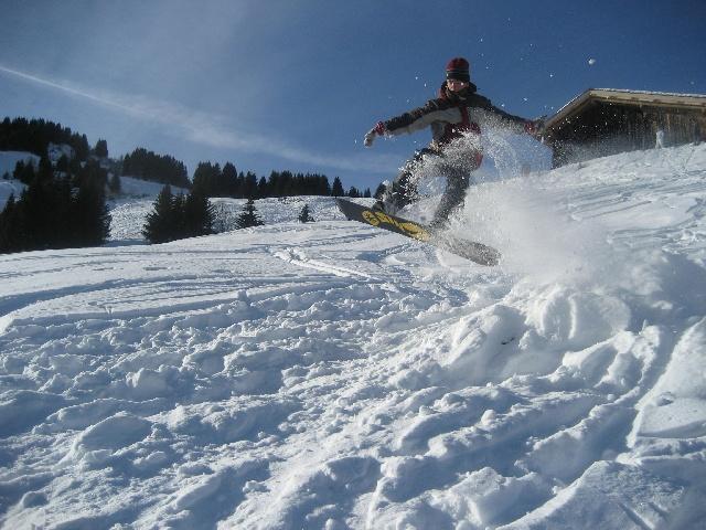 re saut en snow