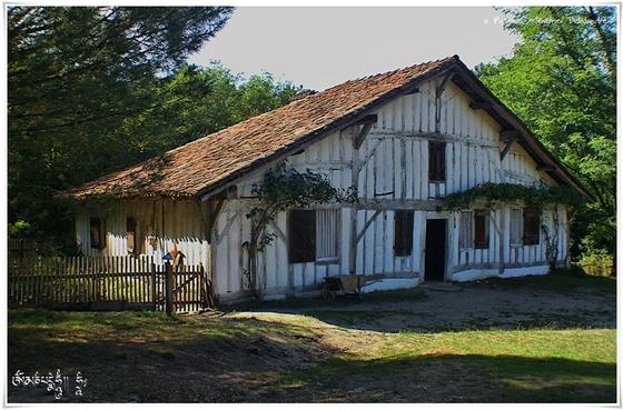 A l'Eco-Musée de la Marquèze... (Virage HDR)